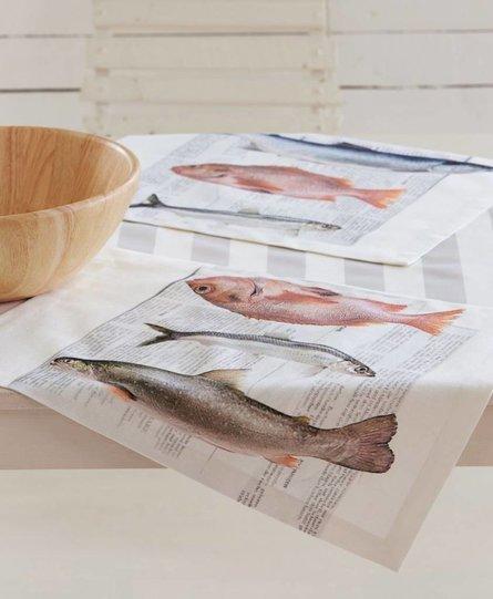 Apelt placemat vissen 35x48cm