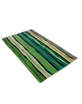 Vossen strandlaken Liana stripe grass