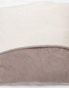 David Fussenegger sierkussen VELVET 50x50cm off-white