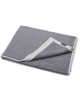 David Fussenegger plaid VELVET solid 135x200cm grey