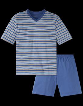 Schiesser heren pyjama kort 166794 multi