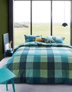 Beddinghouse dekbedovertrek Beckett groen