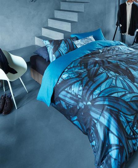 Beddinghouse dekbedovertrek Mineral blauw
