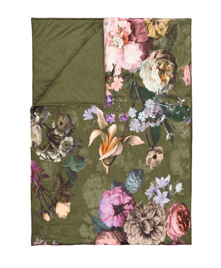 Essenza bedloper Fleur 100x240 moss