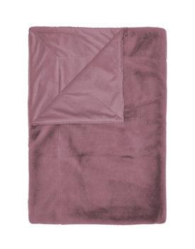 Essenza plaid Furry 150x200 dusty-lilac