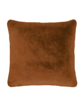 Essenza sierkussen Furry 50x50 leather-brown