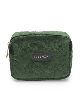 Essenza make-up tasje Lucy velvet green