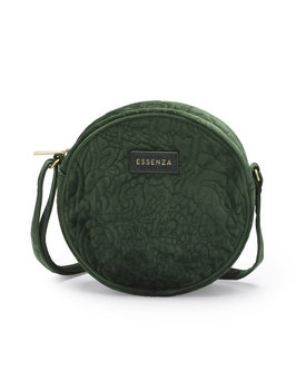 Essenza schoudertas Reese velvet green