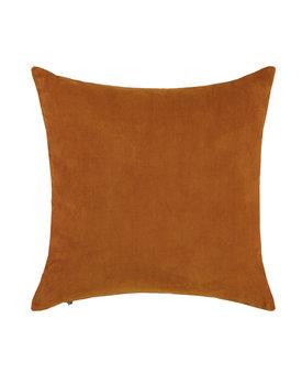 Essenza sierkussen Riv 45x45 leather-brown