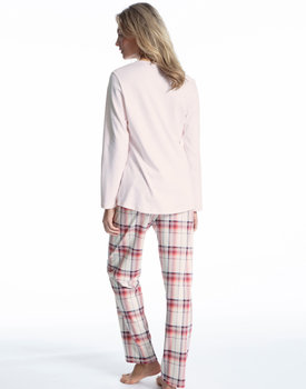 Calida dames pyjama 41724 pearl rose