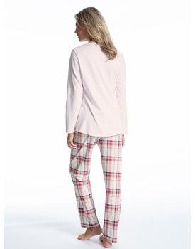 Calida dames pyjama 41724 pearl rose