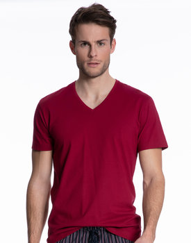 Calida herenpyjama shirt 14081 rumba red