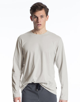 Calida herenpyjama shirt 15081 fog
