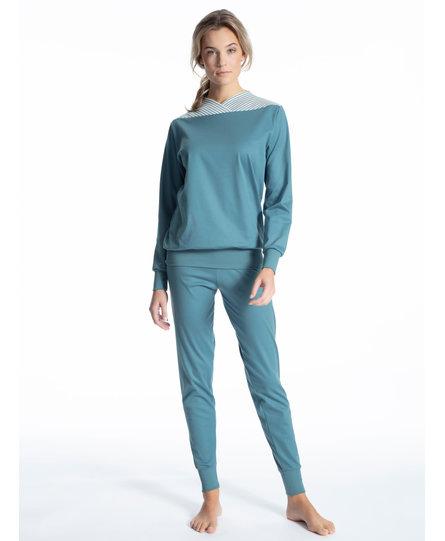 Calida damespyjama 43100 bluestone