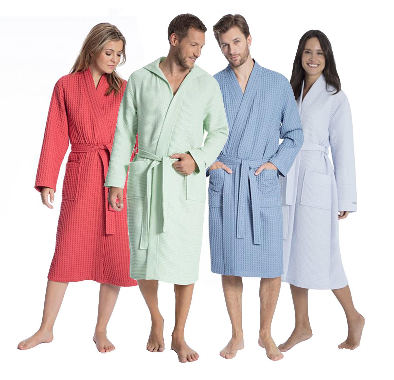 Sauna badjassen en lakens