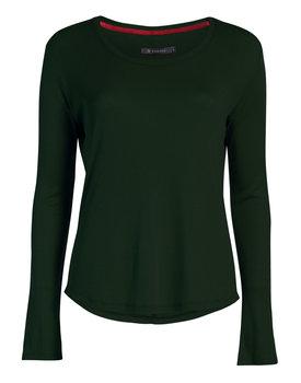 Essenza top Waona uni dark-green