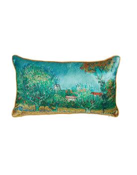 Beddinghouse x Van Gogh sierkussen Countryside Blauw 30x50