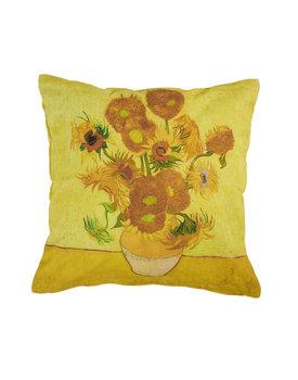 Beddinghouse x Van Gogh sierkussen Sunflower geel 45x45