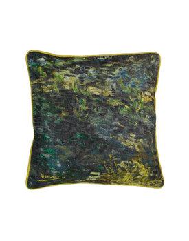 Beddinghouse x Van Gogh sierkussen Paintbrush groen 45x45