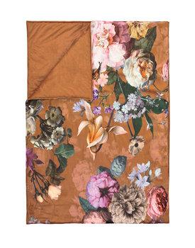 Essenza quilt Fleur leather-brown