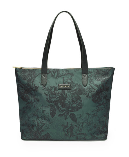 Essenza shopper Lynn Vivienne green