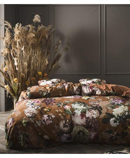 Essenza dekbedovertrek Fleurel leather-brown