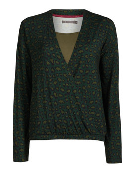 Essenza top Elien bory green