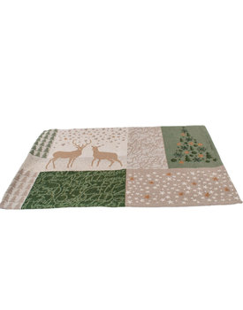 Sander placemat X-mas tales green