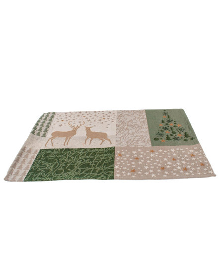Sander placemat X-mas tales green