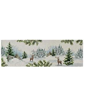 Sander tafelloper Wonderland 32x96cm