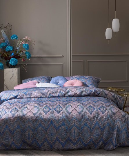 Essenza dekbedovertrek Fabienne blue-granite