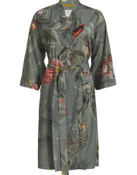 Pip Studio kimono Naomi Floris Grande green