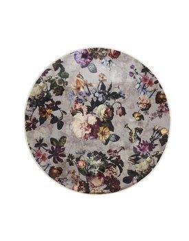Essenza karpet Fleur rond grey