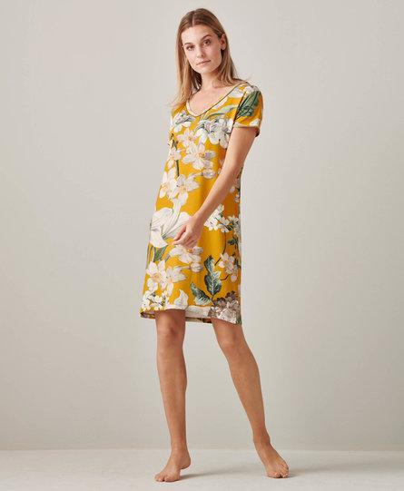 Essenza nachthemd Emmylou rosalee yellow