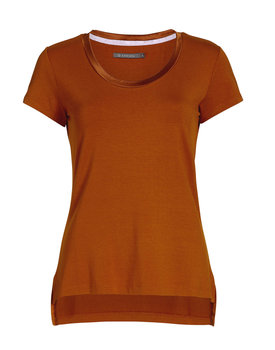 Essenza top Luyza leather-brown