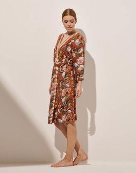 Essenza kimono Sarai filou leather-brown