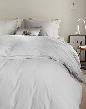 Beddinghouse dekbedovertrek Frost Light grey