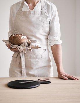 Marc O' Polo keukenschort Akalla 80x95 oatmeal