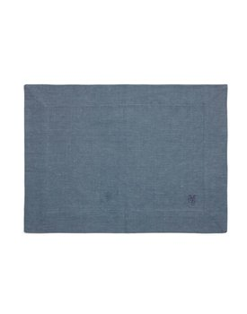 Marc O' Polo placemat Akalla 33x45 smoke-blue