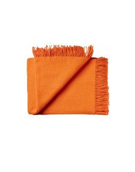 Silkeborg wollen deken Athen 130x200 carrot-orange-4200