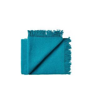 Silkeborg wollen deken Athen 130x200 dark-blue-turqoise-3501