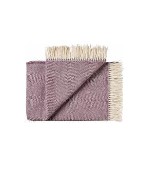 Silkeborg wollen deken Rømø 140x240 purple-0187