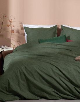 Damai dekbedovertrek Birk green (bio katoen)