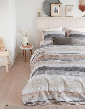 Ariadne at Home dekbedovertrek Colour Blush naturel