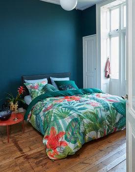 Beddinghouse dekbedovertrek Manoa groen