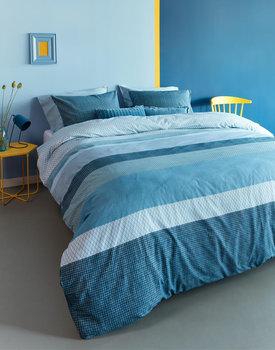 Beddinghouse dekbedovertrek Hidde blauw