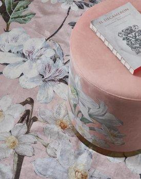 Essenza poef Rosalee dark-blush