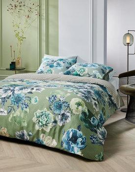 Kardol dekbedovertrek Ornate blauwgroen