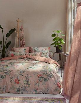 Pip Studio dekbedovertrek Floris roze