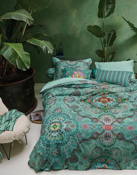 Pip Studio dekbedovertrek Sultans Carpet groen